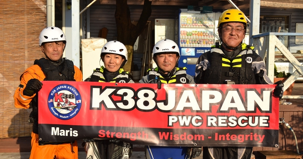 K38JAPAN オープンウォーターコース(ステージ1~3) in 神奈川
