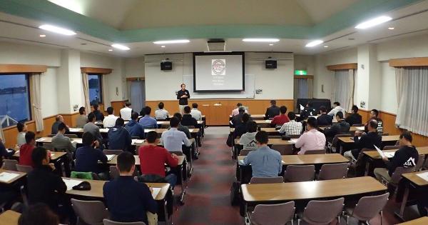 11月2日(水)静岡県浜松市 三ヶ日青年の家にて「公的機関におけるボート安全運航講習会(アウェアネスレベル)」を実施しました。